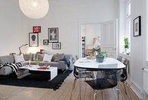 Inspirace ze Skandinávie / Vlezte Finům, Švédům, Dánům a Norům do kuchyně. A nebo do obýváku. Inspirativní fotky interiérů, které se nám líbí!