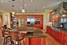 Hawaii Homes: Kitchens / Some of our favorite kitchen designs found in houses throughout Maui, Hawaii.