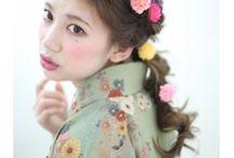 袴 ヘアスタイル