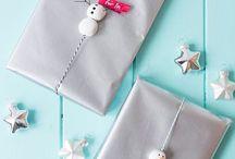 Geschenke und Verpackung