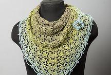 Crochet Shawl   Scarf   Cowl