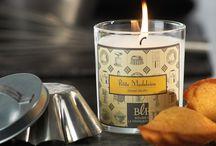 Collection Confiserie Générale / A travers leurs parfums d'addictions, nos bougies parfumées de la collection Confiserie Générale vous plongent dans les délices d'une gourmandise régressive… Craquez sans croquer !