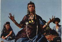 Открытки Африка в красках / Африканские открытки середины ХХ века