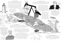 Map / Carte illustrée
