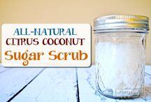 sugar scub