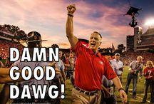 Georgia Football Go DAWGS! / by Michelle Brugh