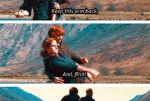 Ron and Hermione♡