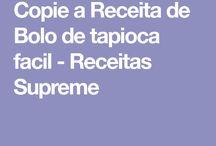 B de tapioca