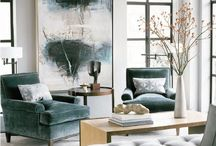 Living rooms to Love! / Masculine meets feminine in perfect harmony. Nailed the colour scheme and furniture pieces.