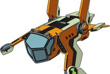 ben 10 ships and cars