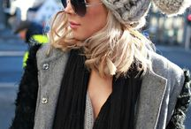 knit: hats and scarves