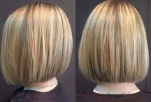 Stylist board- ELLEN / Hair by our stylist Ellen