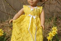 Knitting: Doll clothes