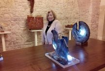 Mostra Basilica Monte Iberico Febbraio 2014 / Arte Raku