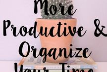 Time Management / managing time, productivity, planning, tips, printable, schedule, planner, motivation, worksheet, strategies, hacks, productivity, organizing, effective, success, life, system, routine, techniques,
