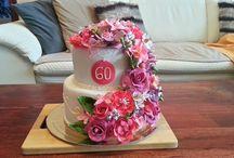 cake / birthday floral cake