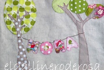 applique & embroidery / by Tatjana Martinovic