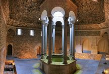 baths / roman thermae, islamic hammams & co.