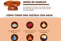 Consejos para Hornos de Leña y Cocina en general / Aquí os dejamos unos cuantos consejos para cocinar con vuestro horno de leña y mantener vuestras cazuelas y cacharros de barro.