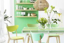 Color Pick : Mint Green / Enjoy my other inspiration boards here : http://pinterest.com/studiomdesigns/