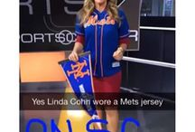 Linda Cohn Superfan / Linda Cohn is Fan First. She is a diehard fan with loyalty and passion to the Mets, NY Rangers, and NHL. Are you a superfan like LInda. Join her Superfan board and start pinning your favorite pic