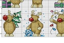 diverse winter kerst patronen