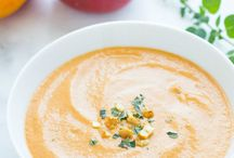 Recettes entrées-soupes