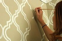 Wall stencils/color / by Carrie Waddill