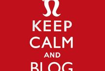 Bloggity Blog Blogging / by Toni Patton