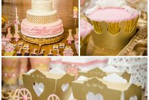 "Princess theme party ""Bella's second"" / by Cynthia Padilla"