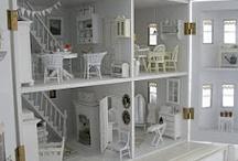 домики кукольные