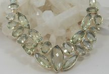 Green Amethyst-Prasiolite-Quartz / #GreenAmethyst #Gemstone #Amethyst #Jewelry #dailybling http://www.andreajayecollection.com/collections/green-amethyst