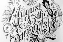 Typography / by Deirdre Casby