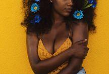 afro flowers kuvaus