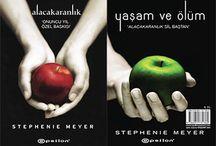 ¥Best my  fovorite books¥ LOVE TWİLİGHT&NEW MOON&ECLİPSE&BREKİNG DOWN&