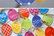 Easter Crafts / A collection of crafts for little ones at Easter time