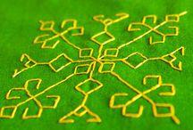 Kasoti embroidery