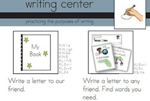 Writing Workshop and Center Ideas / by Brenda Bolden