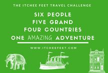 The Itchee Feet Travel Challenge / Can a family of six visit four countries on a budget of $5000? Follow us on our latest adventure and find out!
