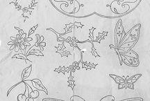 motif bordir & batik