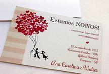 convite noivado