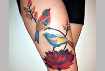 40 Incredible Thigh Tattoos   SloDive