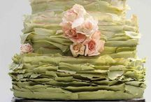 Cakes - Ruffles & Flowers / by Becky Epperson