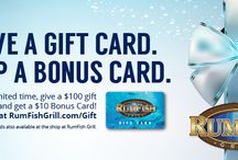 RumFish Grill Gift Guide / Don't tank your gift-giving this year, we've got the best gifts under the sun!