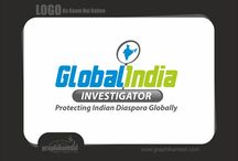 """Logo : Global India Investigator / Logo options for Global India Investigator  ABOUT :   Welcome to """"Global India Investigator""""–the monthly international publication with a focus of inter-linking Indian Diasporas across the globe.  We have started this magazine with a pledge to make it a strong and undisputed voice for protecting the rights of Indians living in different countries of the world.  In this high-end academic monthly magazine we will focus on fundamental political, social, economic, cultural and administrative issues."""