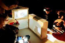 Teatro de Sombras, ideas creativas