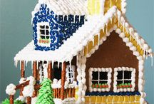 Amazing Gingerbread Houses / by Nancy Albrittain