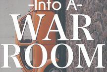 War room ideas