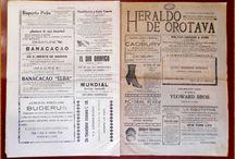 Prensa Antigua Comarcal (II). HERALDO DE OROTAVA / Imágenes de ejemplares del semanario dominical Heraldo de Orotava, publicado en esta villa entre 1921 y 1923.