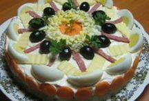 Αλμυρές τούρτες